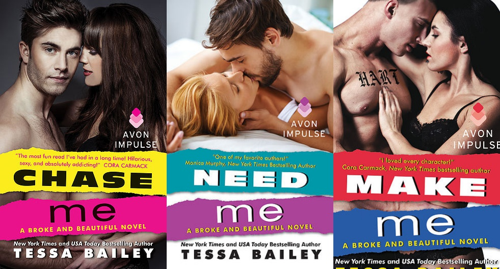 chase me tessa bailey read online free